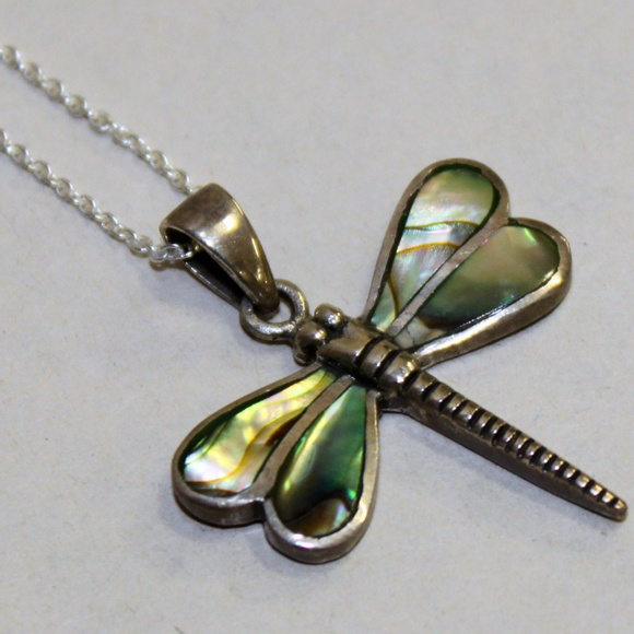 Jewelry - Dragonfly Silver Necklace